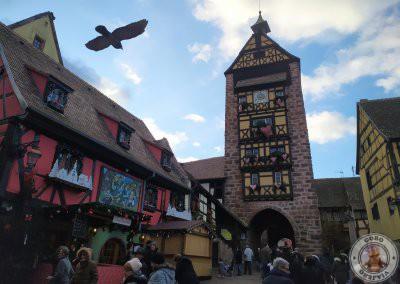 Visita a Riquewihr, pueblo de cuento en Alsacia