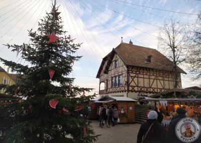 Mercado de Navidad en la Place Fernand Zeyer