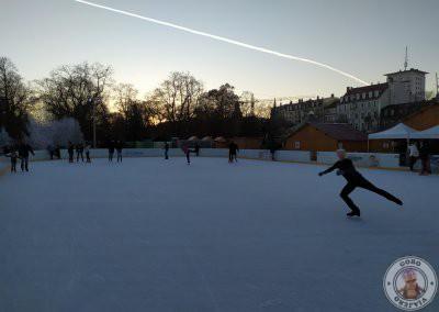 Pista de patinaje de la Place Rapp