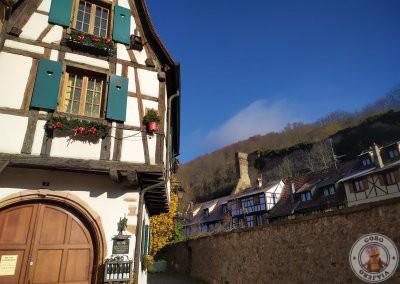Rincones de Kaysersberg en Alsacia