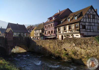 Puente fortificado (Pont Fortifie) de Kaysersberg