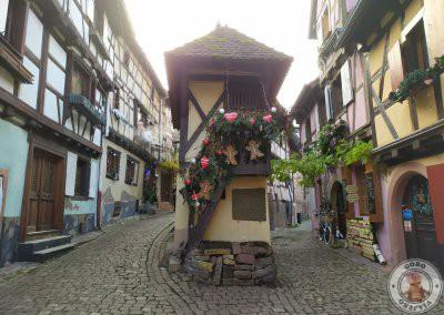 Eguisheim uno de los pueblos imprescindibles en Alsacia