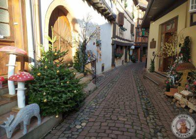 Recorriendo las calles de Eguisheim
