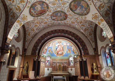 Interior de la Chapelle Saint-Leon