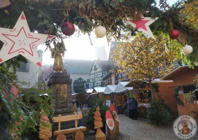 Mercado de Navidad en Eguisheim