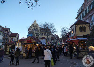 Mercado de Navidad de Place Jeanne d'Arc