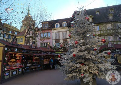 Mercado de Navidad de la Place des Dominicains