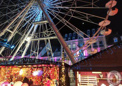 Mercado de Navidad de en Place de la Réunion Mulhouse