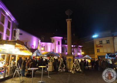 Mercado de Navidad de en Place de la Réunion