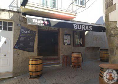 Dónde comer en Portonovo, Bar O Buras