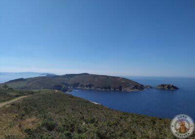 Espectaculares vistas desde el sendero amarillo en la Isla de Ons