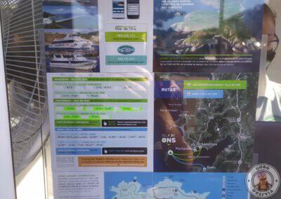 Información de la visita a la Isla de Ons con la Naviera Mar de Ons