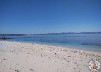 Visita a la Isla de Ons - Playa de Melide
