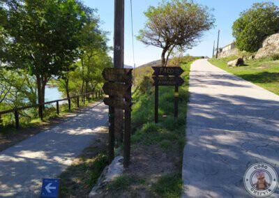 Señalización de las rutas y camino