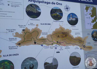 Senderos de la Isla de Ons