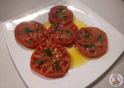 Tomate Maruca especialidad de la Taberna Maruca