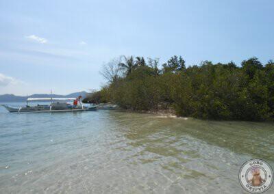 Island hopping en Port Barton