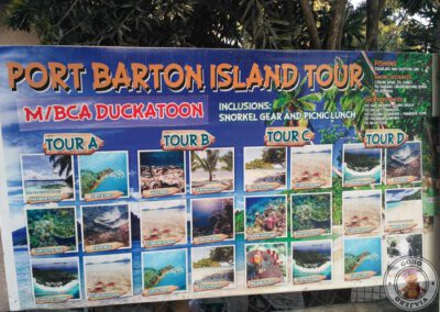 Tours en Port Barton